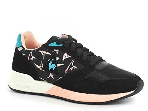 Le Coq Sportif Omega X W Bird of Paradise, Baskets Basses Femme