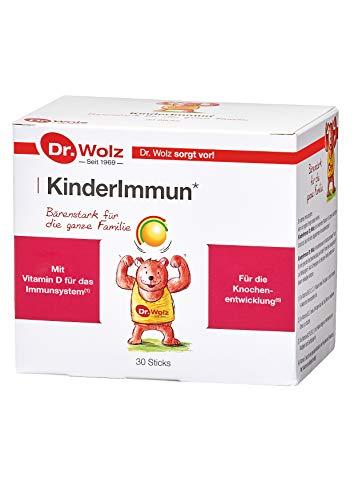 Kinderimmun Dr. Wolz |ausgewählter Wirkkomplex| ohne Zusatzstoffe|für Kinder ab 2 Jahren | 30 Sticks a 2 g (Immun Vitamine Kinder)