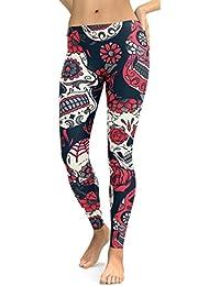 Styledress Damen Leggings 3 4 Hose   Hohe Taille Pants Hosen   Dünne Hosen   56c94b9ad3