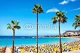 adrium Poster-Bild 50 x 30 cm: Playa de Amadores Beach.
