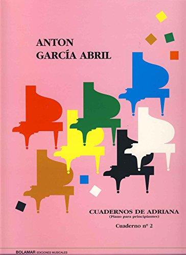 GARCIA ABRIL - Cuadernos de Adriana Vol.2: nº 17 a 30 para Piano