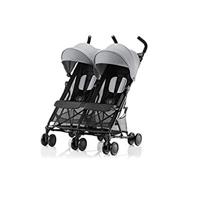 Britax Römer HOLIDAY DOUBLE Pushchair (6 months - 15 kg|3 years ) - Steel Grey  GSDZSY