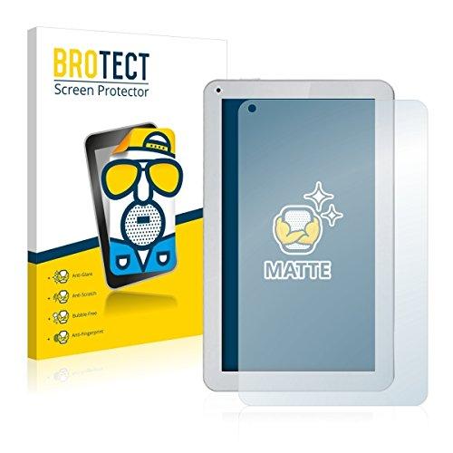 2X BROTECT Matt Bildschirmschutz Schutzfolie für irulu eXpro X1Plus (matt - entspiegelt, Kratzfest, schmutzabweisend)