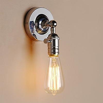 Pathson Industrial Vintage Metal Wall Sconce Lamp Edison Light Lamp Fixture - cheap UK light store.