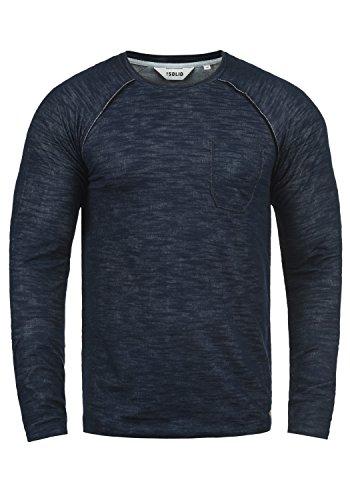 !Solid Don Herren Sweatshirt Pullover Pulli Mit Rundhalsausschnitt Aus 100% Baumwolle, Größe:L, Farbe:Insignia Blue (1991) -