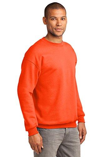 Port & Company -  Felpa  - Uomo Arancione (Safety Orange)