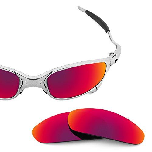 Verres de rechange pour Oakley Juliet — Plusieurs options Soleil de Minuit MirrorShield® - Non-Polarisés