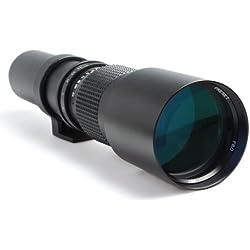 Téléobjectif 500mm F 1:8 pour boîtiers Reflex Canon EOS 1100D 1000D 650D 600D 550D 500D 450D 400D 350D 300D 100D 10D 20D 30D 40D 50D 60D 1D 5D 6D 7D