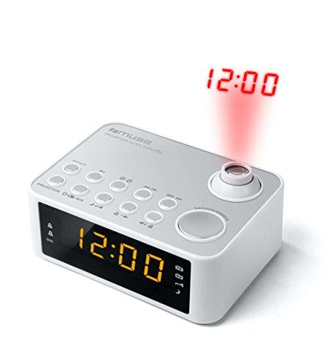 Radio-réveil projecteur Muse M-178 PW