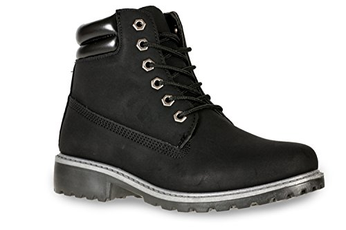 new-womens-casual-winter-lace-up-ladies-walking-ankle-hiking-boot-shoe-uk6-black