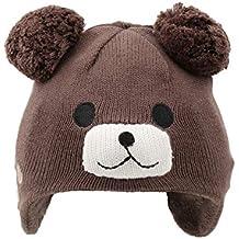 Arcweg Cappello Bambina Invernale Bambino Berretti Maglia Termico Pile  Animali Forma con Orecchie Paraorecchie per Bambini d1adb2e9decd