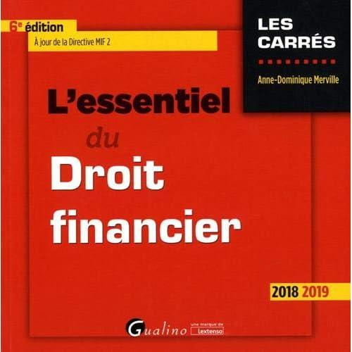 L'essentiel du droit financier