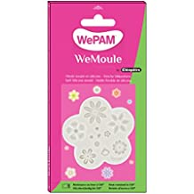 WePAM - PF00MA35 - WeMoule - Molde flexible para moldear multiflores con porcelana fría.