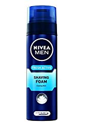 Nivea Men Fresh Active Shaving Foam - 200 ml