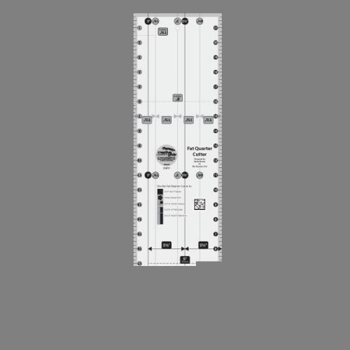 Creative Grids Fat Quarter Cutter Quilting Ruler - Quilting Cutter