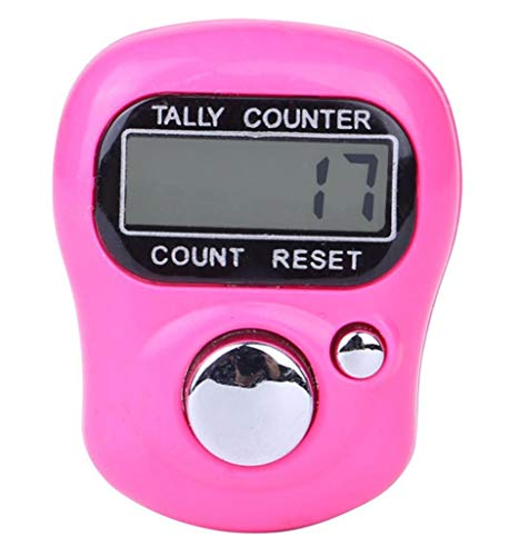 Coupon Matrix - Digit Digital LCD Electronic Finger Hand Ring Knitting Row Tally Counter