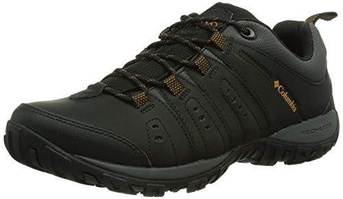 columbia-woodburn-ii-mens-low-rise-hiking-shoes-black-black-goldenrod-010-11-uk-45-eu