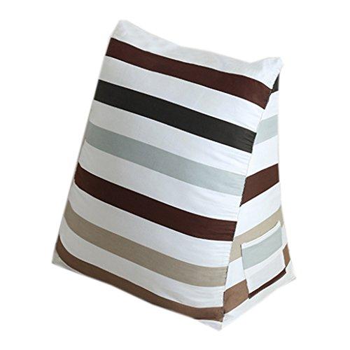 LAOM Ergonomisches Dreieck-Sitzkissen Weiche und Bequeme PP-Baumwollfüllung und Abnehmbarer Baumwollbezug Wahl (Farbe : F) -