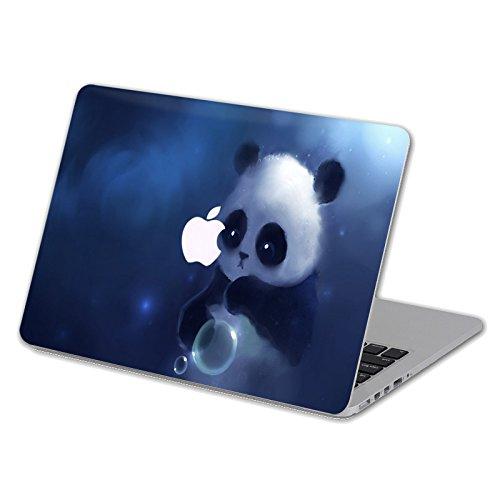 (Cartoon Kollektion Hochwertige Hartschale Ultra Dünn Snap Case Schutzhülle Für MacBook Air 13 Zoll (Model A1369 / A1466) (blase panda))