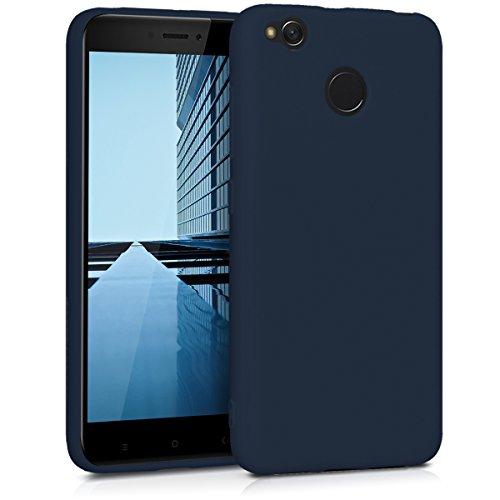 kwmobile Xiaomi Redmi 4X Hülle - Handyhülle für Xiaomi Redmi 4X - Handy Case in Dunkelblau matt