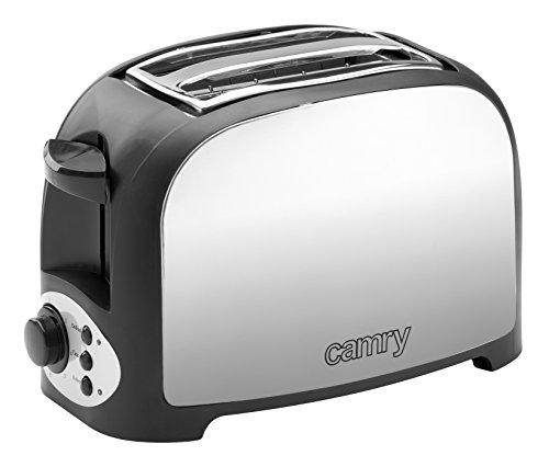Camry CR 3208 Tostador CR3208 grille-pain, 750 W, Noir/Argent