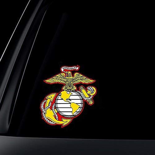US Marine Corps WachBtl Semper Fidelis Car Decal/Sticker -