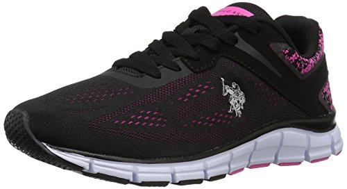 us-polo-assnwomens-womens-raven-ek-fashion-sneaker-black-fuchsia-10-m-us