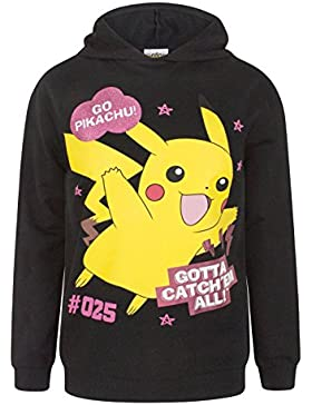 Pokemon - Sudadera con capucha - Capucha - Manga Larga - para niña