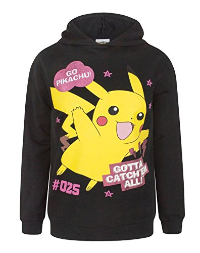 Pokemon Hoodie (Pokemon Gotta Catch Em All Girl's Hoodie (11-12)