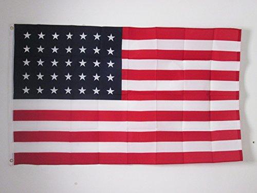 BANDIERA STATI UNITI 35 STELLE 150x90cm - BANDIERA ANTICA AMERICANA - USA 90 x 150 (35 Flags)