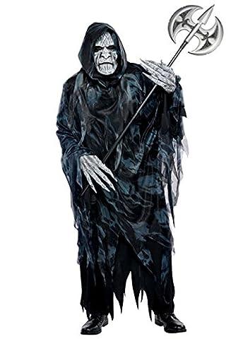 Mens Halloween faucheuse Soul Taker Costume M/L (chest 40-42