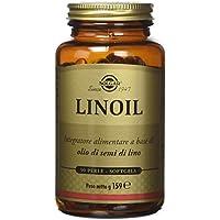 Solgar Linoil Integratore Alimentare a Base di Olio di Semi di Lino - 90 Perle