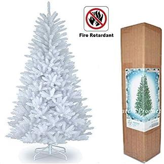 15-m-Weihnachtsbaum-Imperial-Wei-Knstlicher-Baum-390-Spitzen-mit-Metall-Stnder