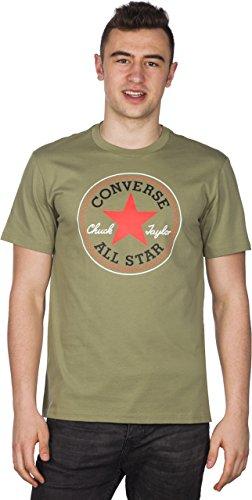 Converse Herren Core Seasonal Cp Tee T-Shirt Grün