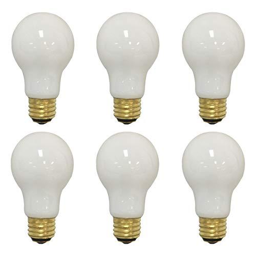 Royal Designs kurz 3-Wege-Leuchtmittel, 50/100/150-watt weichen, weißen Glühlampen a19,130V, glas, Weiß (Soft White) 150.00 W 130.00 voltsV -
