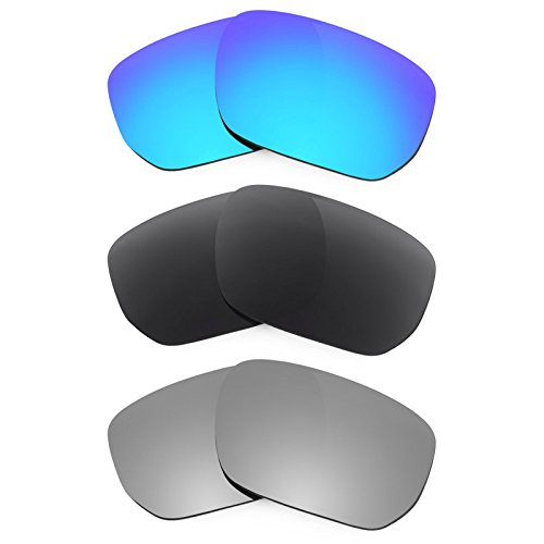 Revant Ersatzlinsen für Oakley Style Switch Polarisiert 3 Paar Kombipack K015