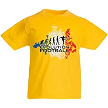 N4455K La camiseta de los niños Evolution Football - France
