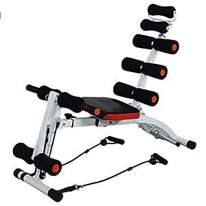 YFXOHAR Six Pack Ab Care Exerciser Ab Builder Heavy Duty Abdomen Exerciser,Home Gym