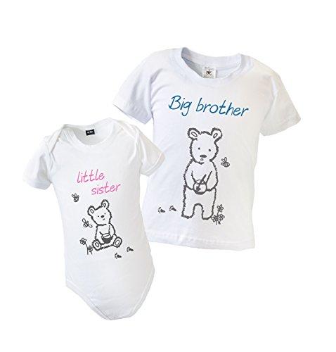 große Bruder kleiner Schwester passende Tops Kleidung (Big-brother-kleiner Bruder-t-shirts)