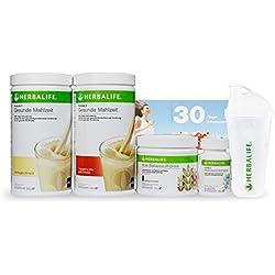 HERBALIFE - Das NEUE Gewichtskontroll-Programm - proteinbasiert, vitaminversorgend und ballaststoffreich - 6teilig - Vanille-Tropenfrucht