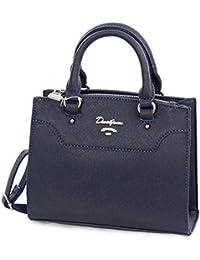 a6c5c5dfb92e8 David Jones Handtasche Damen - Kleine Mini Tasche elegant mit  Schulterriemen CM4023