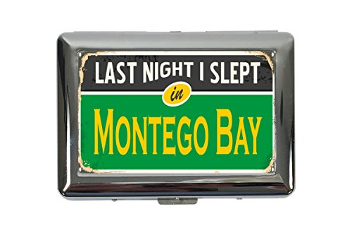 Preisvergleich Produktbild Zigarettenetui Box Reisen Küche Montego Bay Jamaika Bedruckt