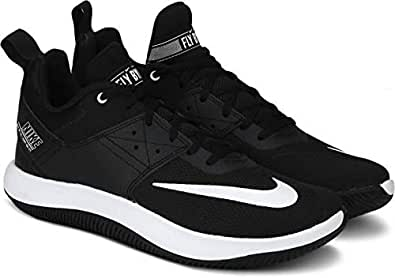 9f9bfdce785 Nike Men s Fly.by Low II Black-White Basketball Shoes (AJ5902-011 ...