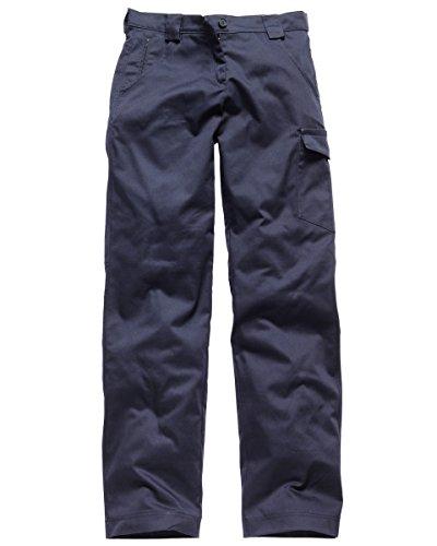 Dickies Damen Redhawk Hose (Regular) Länge, marineblau, 10 (Uniform Hose Dickie)