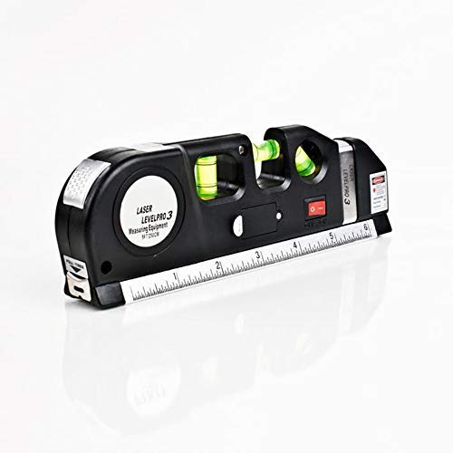 Level-line-tool (Laser Level Horizon Vertical Measure Line Tape 244 FT Aligner Standard & Metric Linulers Multipurpose Measure Instrument Level Laser Tool)