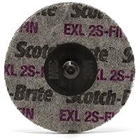 maxidetail ad9200unitarizado rueda, carburo de silicio, Roloc Exl 2S Fin Scotch-Brite/76mm/3m