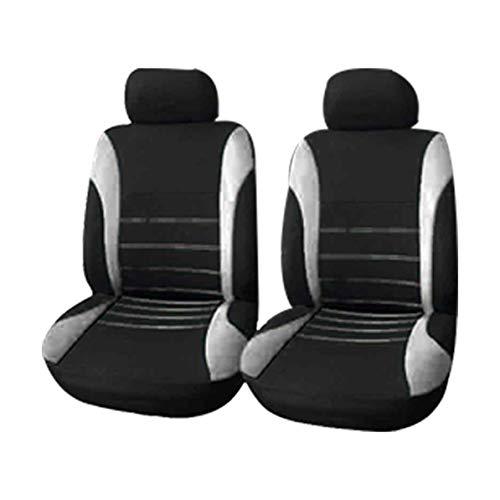 Seater Anteriore GODGETS Coprisedili Auto Set Completo Universali Anteriori e Posteriori Set Coprisedile,Slittata Resistente allUsura Accessori Auto Interno,Nero Blu,2