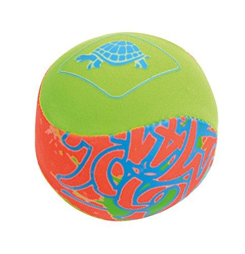 Schildkröt Wave Jumper, der Ball der auf der Wasseroberfläche springt, Ø55mm, ein Riesenspaß für Pool, Freibad, Meer, 970184