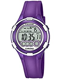 Reloj Digital para Dama con Esfera LCD y Pantalla Digital, y Extensible de