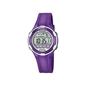 Calypso. Reloj Digital para Dama con Esfera LCD y Pantalla Digital, y Extensible